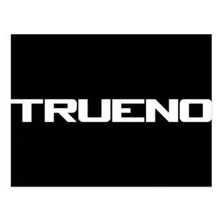 Trueno Post Card