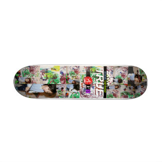 Trues First Painting Skateboard Deck