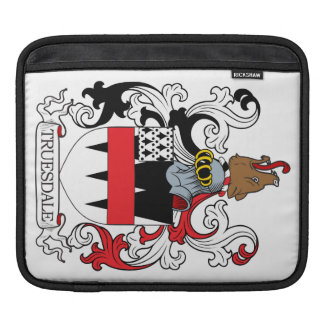 Truesdale Family Crest Sleeve For iPads