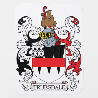 Truesdale Family Crest Swaddle Blankets