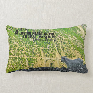 Truest Wisdom Quote Custom Throw Pillow