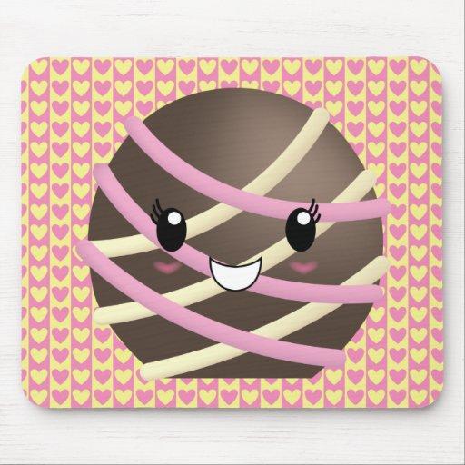 Trufa de chocolate oscura Mousepad