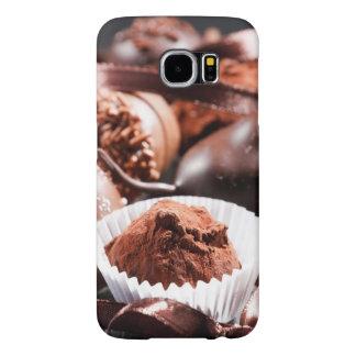 Trufas de chocolate fundas samsung galaxy s6