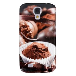 Trufas de chocolate funda para galaxy s4