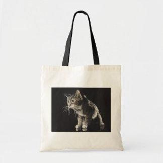 Trufas la acuarela del gato de Tabby Bolsas