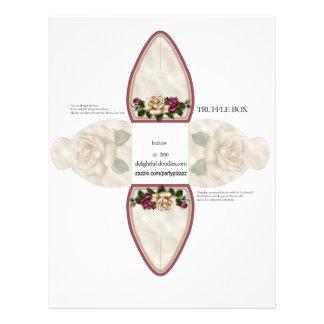 Truffle Box Party Favor box. Birthday or weddings Custom Flyer