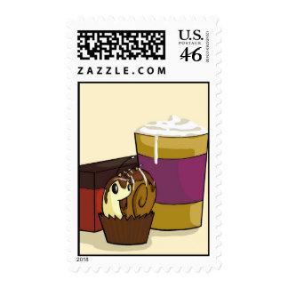 Truffle Snail Stamp