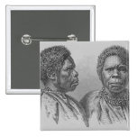 Truganina, the last Tasmanian woman Pinback Button