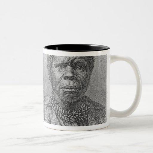 Truganina, the last Tasmanian woman Two-Tone Coffee Mug