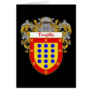Trujillo Coat of Arms/Family Crest Card
