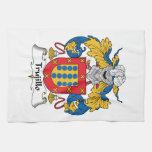 Trujillo Family Crest Hand Towel