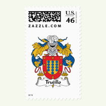 Trujillo Family Crest Stamps