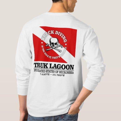 Truk Lagoon best wrecks T_Shirt