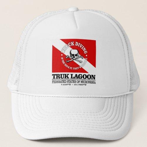Truk Lagoon best wrecks Trucker Hat