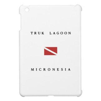 Truk Lagoon Micronesia Scuba Dive Flag Cover For The iPad Mini