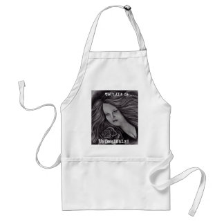 TRULALA IS UNDENIABLE APRON! ADULT APRON