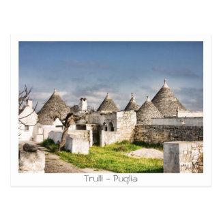Trulli - Puglia Postcard
