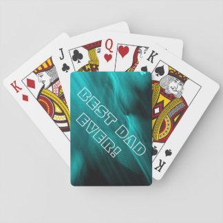 Trullo abstracto baraja de cartas