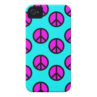 Trullo adolescente maravilloso del Hippie y signos iPhone 4 Case-Mate Cárcasa