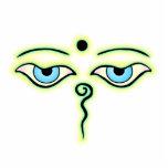 Trullo amarillo Buda Eyes.png Escultura Fotografica