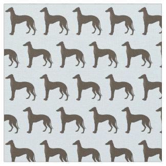 Trullo animal del modelo de la silueta del perro telas