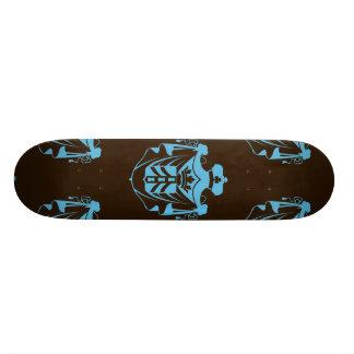 Trullo Brown del escudo de la familia Skateboards