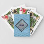 Trullo con monograma barajas de cartas