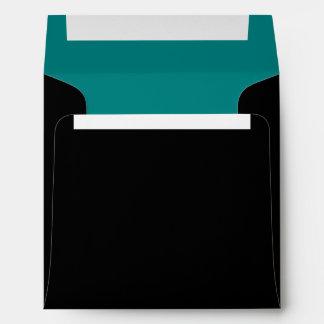 Trullo de coordinación y paleta de colores negra
