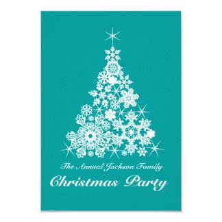 Trullo de la invitación del fiesta del árbol del invitación 8,9 x 12,7 cm