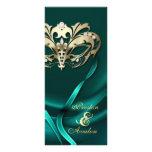 Trullo de la mascarada del oro Jeweled casando pro Plantillas De Lonas