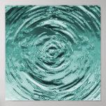 Trullo de la ondulación del agua impresiones