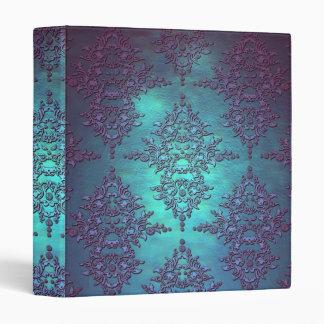 """Trullo de lujo al modelo púrpura del damasco carpeta 1"""""""