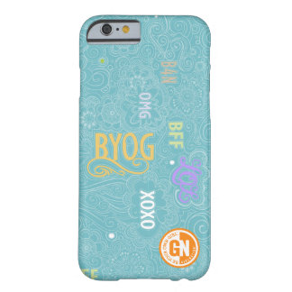 Trullo del caso de la charla iPhone6 del Doodle Funda Barely There iPhone 6