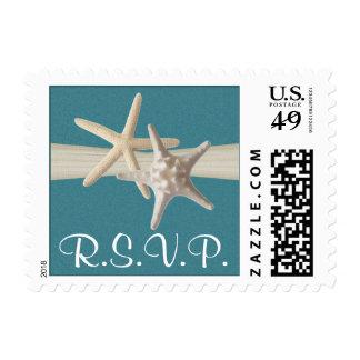 Trullo del dólar de las estrellas de mar y de timbres postales