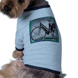 Trullo del paseo de la bici del vintage ropa macota
