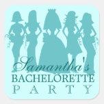 Trullo del pegatina del fiesta de Bachelorette