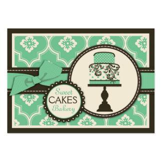 Trullo dulce de la tarjeta de visita de la torta