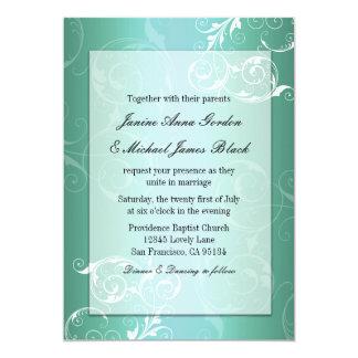 Trullo e invitación blanca del boda