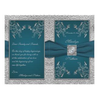 Trullo en programa del boda del estaño tarjetas publicitarias