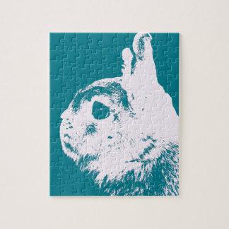 Trullo enano del conejo de Netherland Rompecabezas Con Fotos