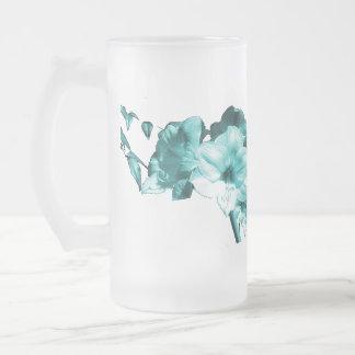 Trullo escarchado de cristal del Amaryllis de la Taza De Cristal