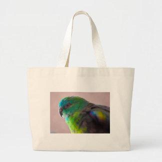 TRULLO EXÓTICO del PÁJARO del LORO Colorful-parrot Bolsa