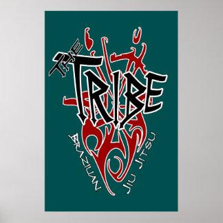 """Trullo grande del poster de la tribu [22,86"""" x 34,"""