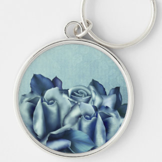 Trullo helado y rosas de invierno azules