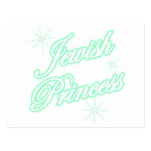 Trullo judío de la princesa tarjeta postal