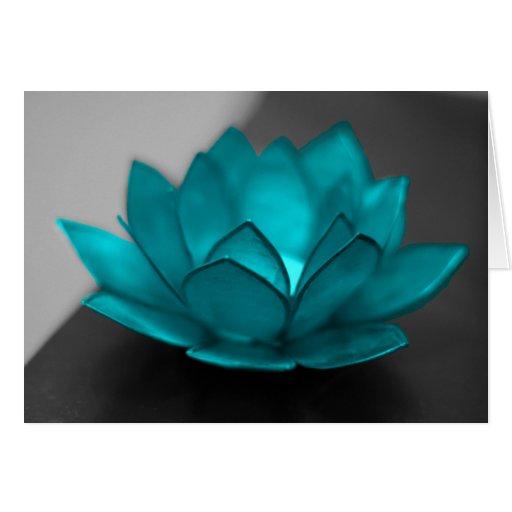 Trullo Lotus Tarjeta De Felicitación