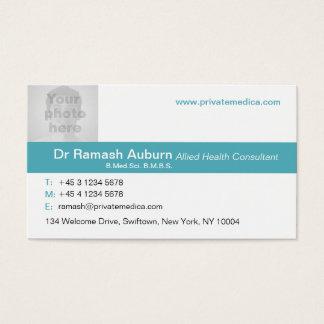 Trullo médico simple/tarjeta de visita blanca de tarjetas de visita
