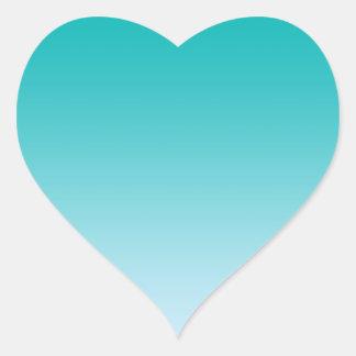 Trullo Ombre Pegatina En Forma De Corazón