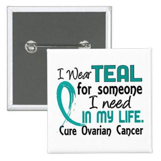 Trullo para alguien necesito al cáncer ovárico pin cuadrada 5 cm