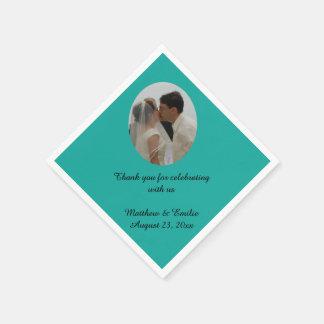 Trullo personalizado casando servilletas de la servilletas desechables